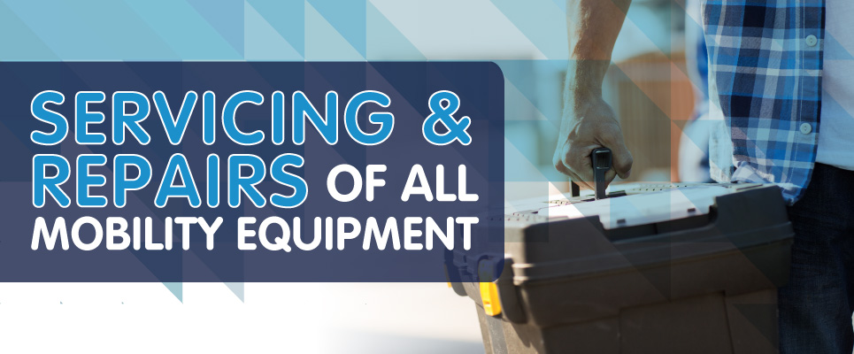 Mobility Servicing and Repairs of all Mobility Aids